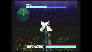CGRgameplay GODZILLA GENERATIONS: MAXIMUM IMPACT (Sega Dreamcast) Stage 5-1 Walkthrough