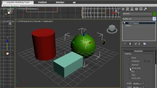Проецирование текстурных карт в 3DsMax 2010 (31/42)