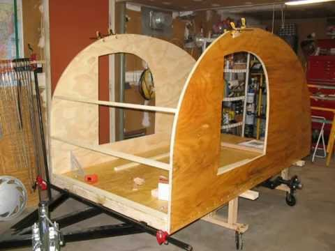 Building my teardrop trailer, camper, from scratch.