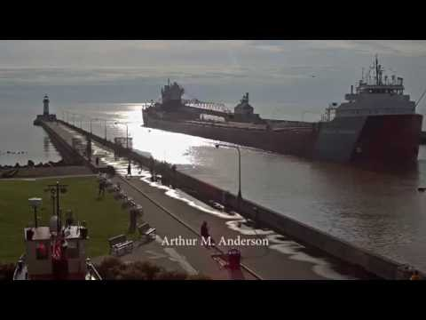 Arthur M  Anderson arrived Duluth 7/15/2016