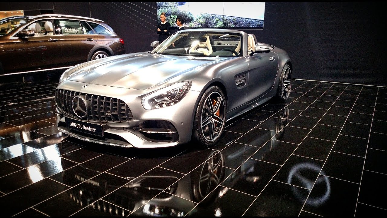 mercedes amg gtc roadster vienna autoshow 2017 youtube. Black Bedroom Furniture Sets. Home Design Ideas