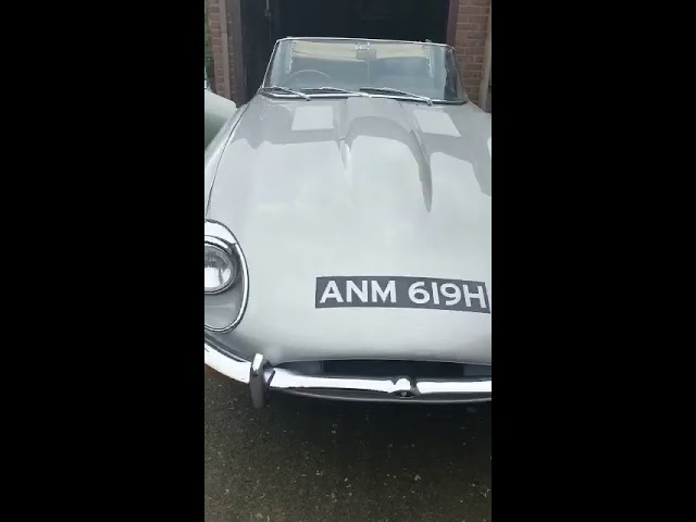 Look at this lovely E type