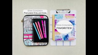 ERIN CONDREN FAVORITES & THE FOCUSED COLLECTION