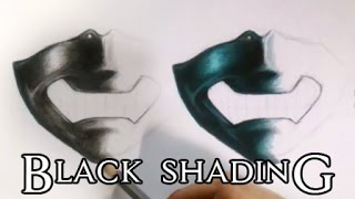 Black Shading/Coloring Tutorial