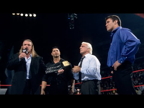 Triple H introduces Evolution: Raw, Feb. 3, 2003