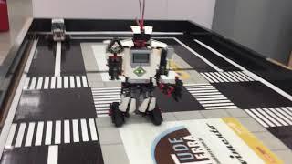 Teste de montagem do EV3Storm - Reconhecendo Obstáculos