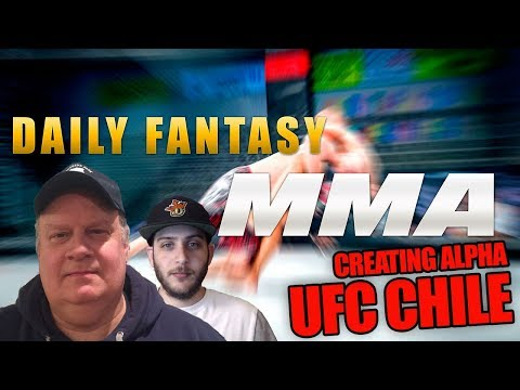 UFC Chile   DraftKings   Creating Alpha in Daily Fantasy MMA