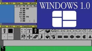 A Tour of Windows 1.0 - Software Showcase