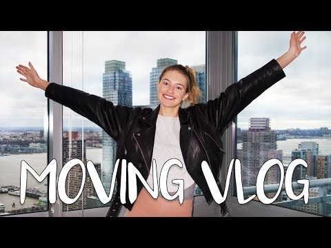NYC Moving Vlog | From Chelsea to Brooklyn | Friends, Unboxing, & My New Home