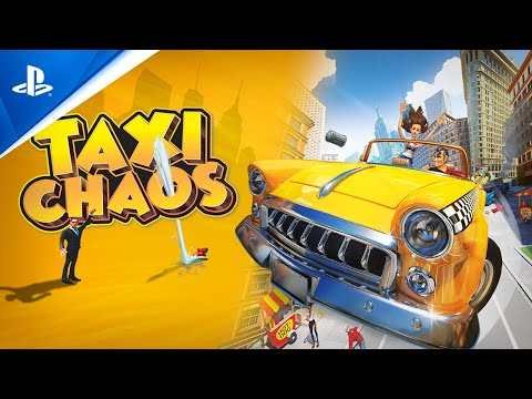 Taxi Chaos - Launch Trailer   PS4