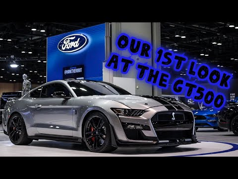 Our First Look at the GT500 (Central Florida International Auto Show)