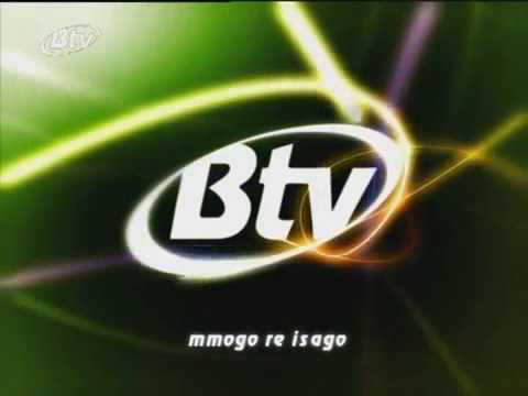 Botswana Television Logo (green version)