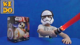 Робот Стар Варс Сферо Дройд BB-8 для дітей розпакування граємо Robot Star Wars дроїд sphere of BB - 8