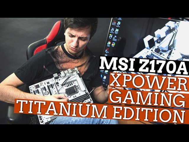 MSI Z170A XPower Gaming Titanium Edition: создана для разгона