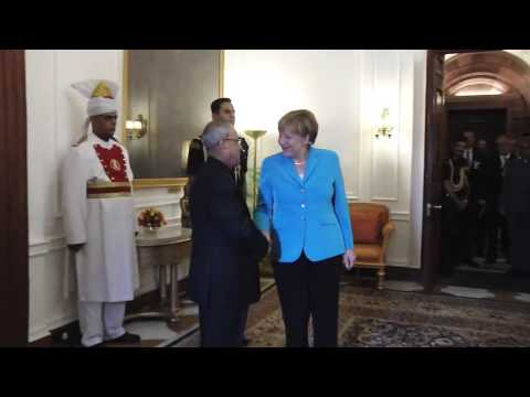 Chancellor of Federal Republic of Germany call on the President