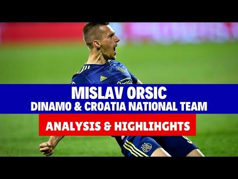 Mislav Orsic Analysis Stats Highlighs Dinamo Croatia National Team Youtube
