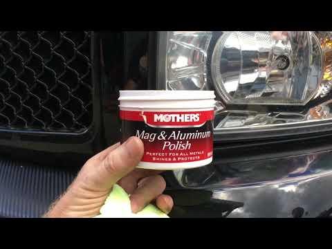 Mother's Metal Polish on Headlights?