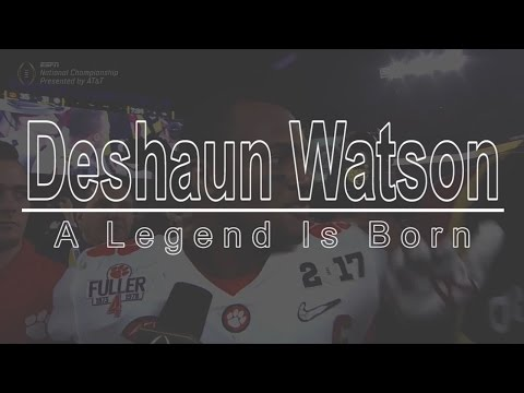 Deshaun Watson: A Legend is Born