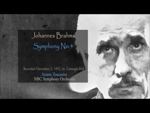 BRAHMS - Symphony No 4 - Arturo Toscanini (1951) HD