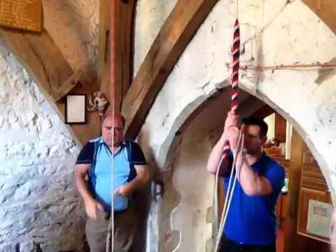 Bell ringing at High Halstow, Kent
