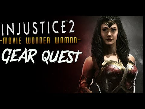 [LIVE] INJUSTICE 2 Movie WONDER WOMAN Quest! To End All Wars
