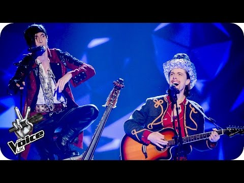 The Dublin City Rounders perform 'Blank Space' - The Voice UK 2016: Blind Auditions 4