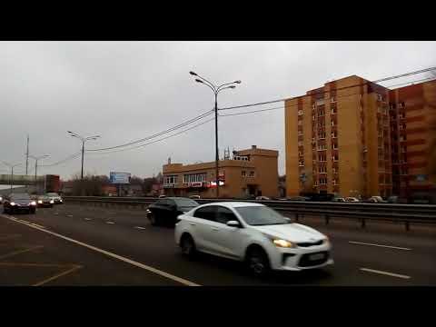 Долгопрудный 1416 Лихачёвский проспект, ТЦ Город осень день