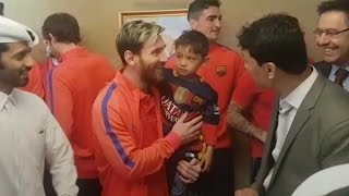 Lionel Messi Superfan Meets His Hero - Afghan Boy Who Became Viral Star