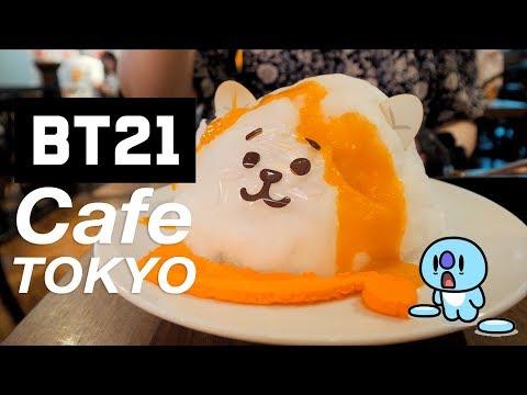 BT21 Cafe in Japan ♡