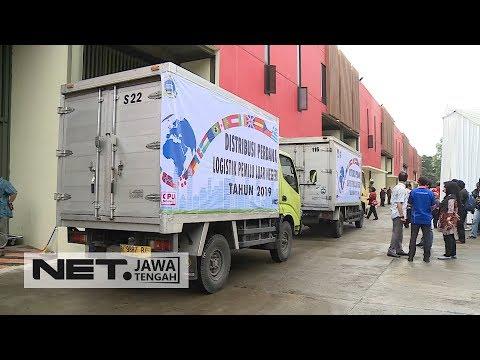 Kiriman Logistik Perdana Untuk Warga Indonesia Yang Tinggal di Luar Negeri - NET JATENG