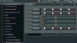 Armando una base de cumbia con bajo y piano en FL Studio 7