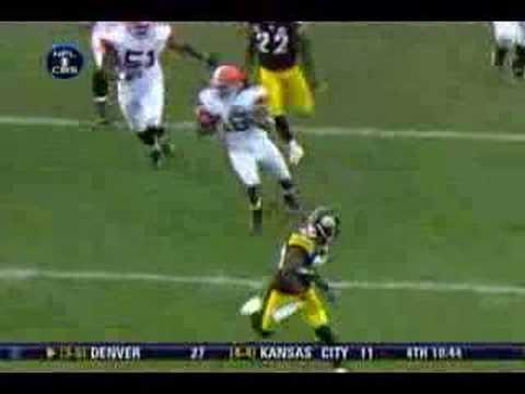 2007 Cleveland Browns - Josh Cribbs Immaculate Deception