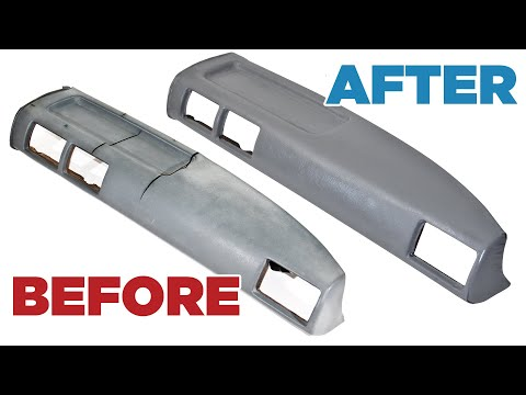 How to Restore/Fix/Repair a Cracked Vinyl Dash – Toyota Hilux Pickup/4Runner