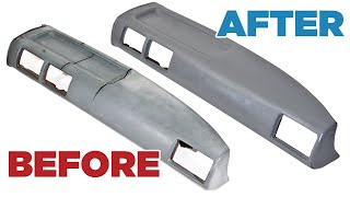 How to Restore/Fix/Repair a Cracked Vinyl Dash - Toyota Hilux Pickup/4Runner screenshot 5