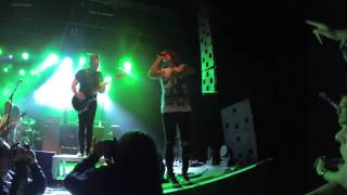 Blessthefall - Intro + You Wear A Crown But You're No King Live @ Trix 08/03/2015