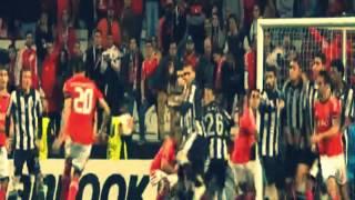 Nicolás Gaitán Free Kick Panenka goal Benfica vs Paok 1 0 2014 HD