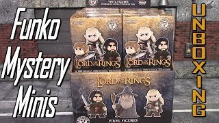 Lord Of The Rings Funko Mystery Minis Full Case Unboxing With Layout