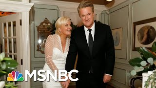 Congratulations Joe Scarborough And Mika Brzezinski | Morning Joe | MSNBC