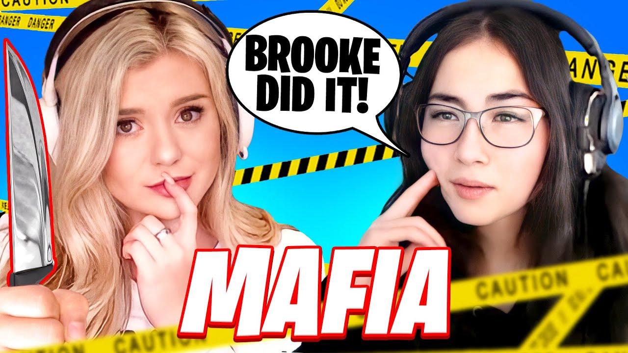 100 Thieves Plays Mafia ft. Kyedae, BrookeAB & More!