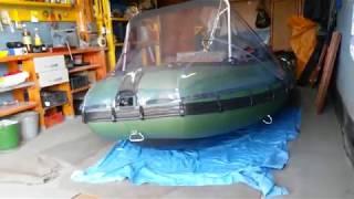Solar 380k максима и тент носовой