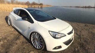 Opel Astra GTC - Тюнинг на 500 000 рублей (музыка, пневма, стайлинг, диски)