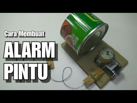 Cara membuat alarm sedehana | Make door alarm