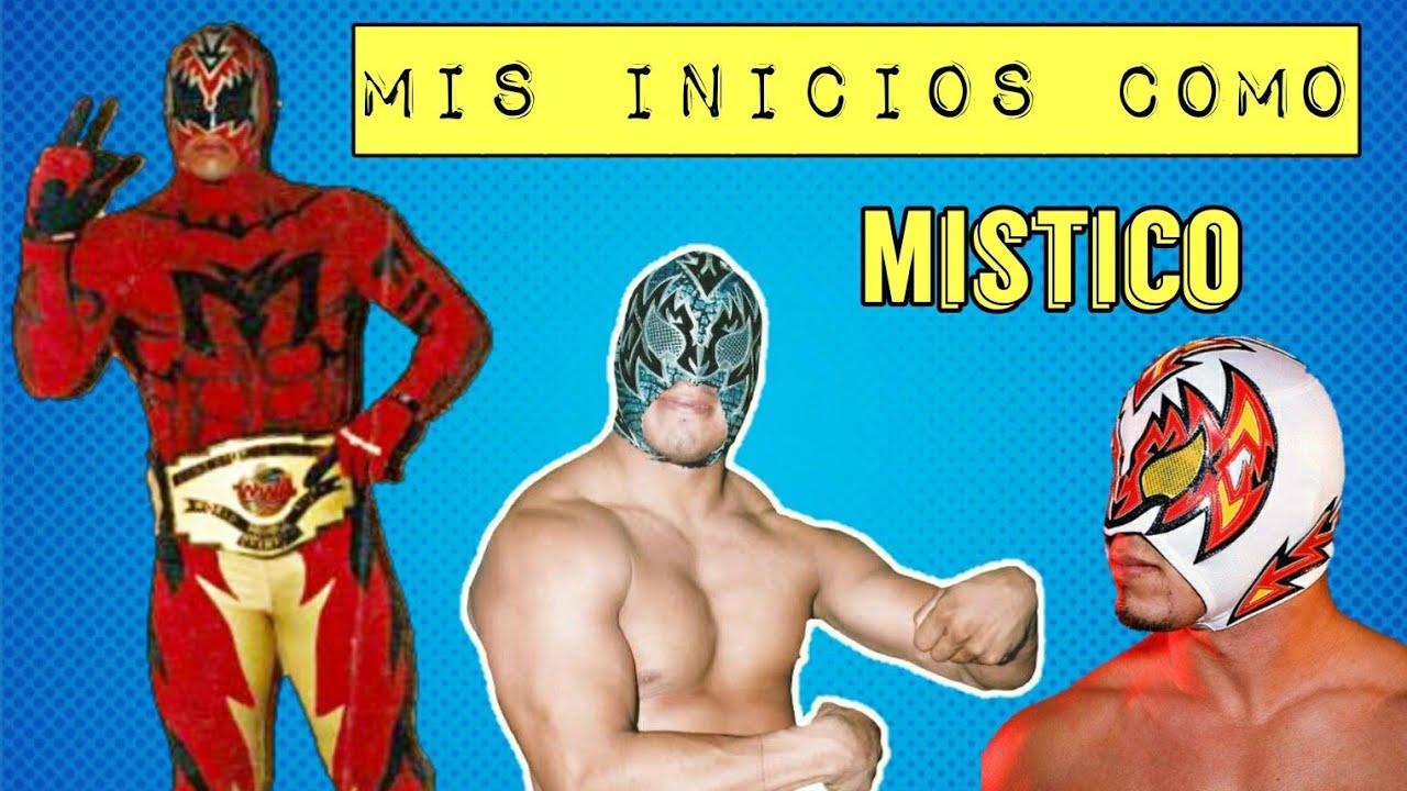 Recuerdos de mis Inicios como MIstico - Cinta de Oro (Ex-Sin Cara WWE)