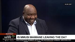 If Maimane resigns, who will lead the DA?: Mzwandile Mbeje