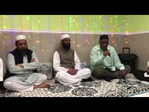 Naat By Mohammad Shafi Uddin Ahmed like Mohammad Khursheed Ahmed In Chicago USA