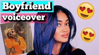 My Boyfriend Does My Voiceover | Makeup Tutorial (Bri Hall)