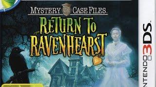 Mystery Case Files Return To Ravenhearst Gameplay {Nintendo 3DS} {60 FPS} {1080p}