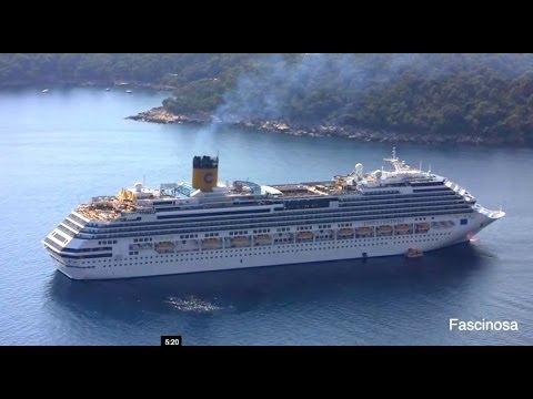 Costa Fascinosa Cruise Ship  Italy, Europe - September 2013.