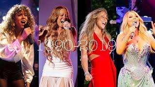 "Mariah Carey ATTEMPTING Vision Of Love ""BEEEE"" Note (1990-2019) Video"