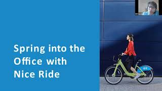2021 Webinar: Spring into the Office with Nice Ride screenshot 2